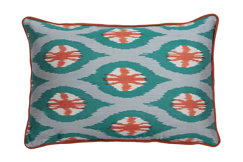 HANDMADE SILK IKAT CUSHION, 0027