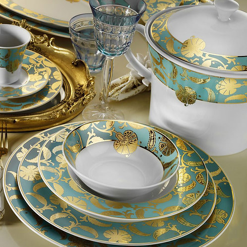 97 PIECES EXCLUSIVE TURKISH PORCELAIN DINNERWARE