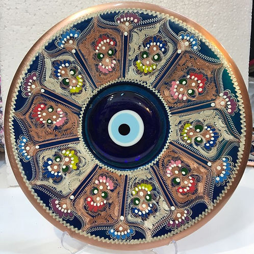 "TURKISH EVIL EYE DECOR, 24 cm (9.4"")"