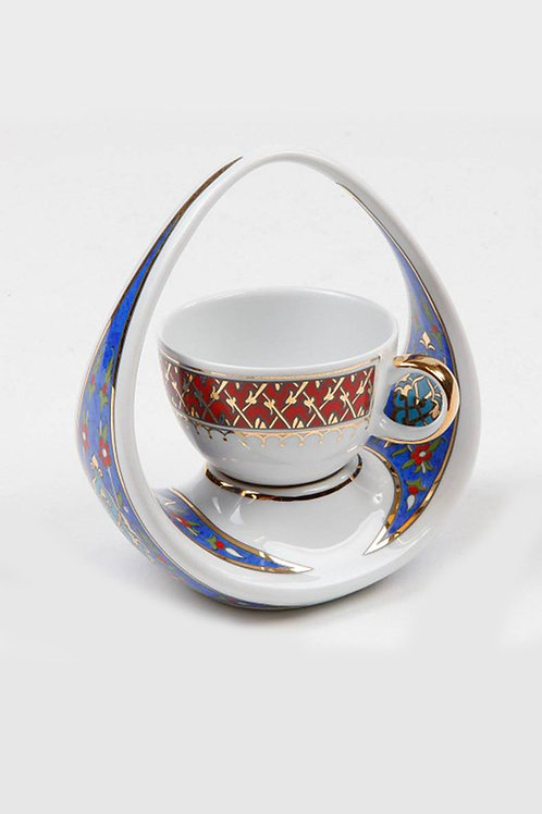 EXCLUSIVE PORCELAIN TURKISH COFFEE CUP, KP-020