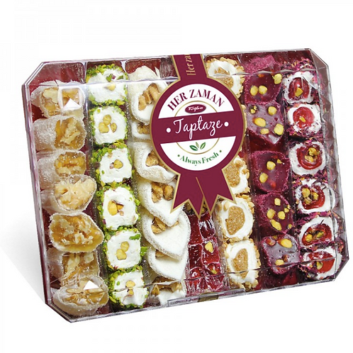 TURKISH MIX DELIGHT BOX, 600 GR