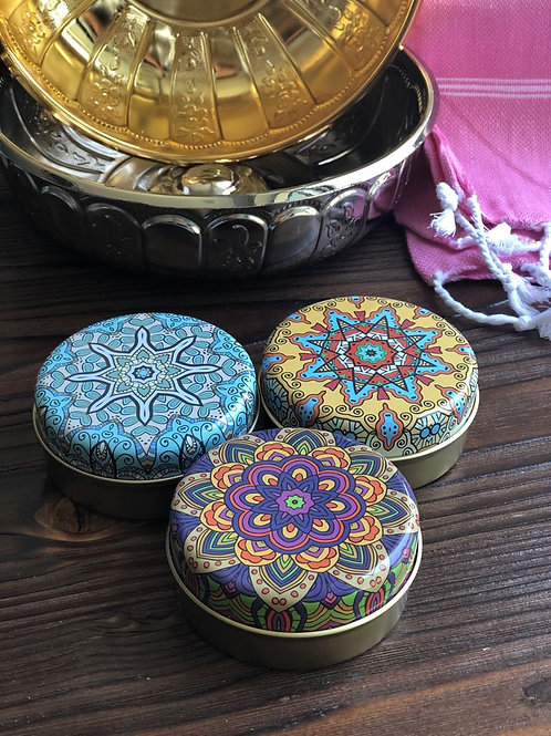 x3 HANDMADE OLIVE OIL HAMMAM SOAP SET WITH ORIENTAL BOXES