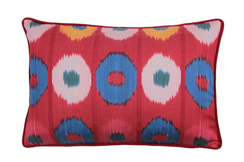 HANDMADE SILK IKAT CUSHION, 0021