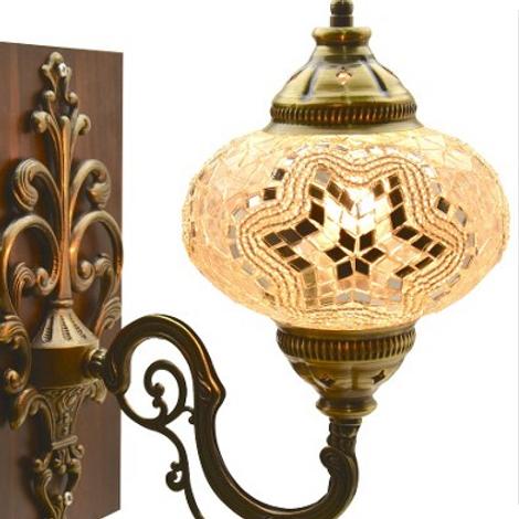 MOSAIC WALL LAMP, BEIGE 0011
