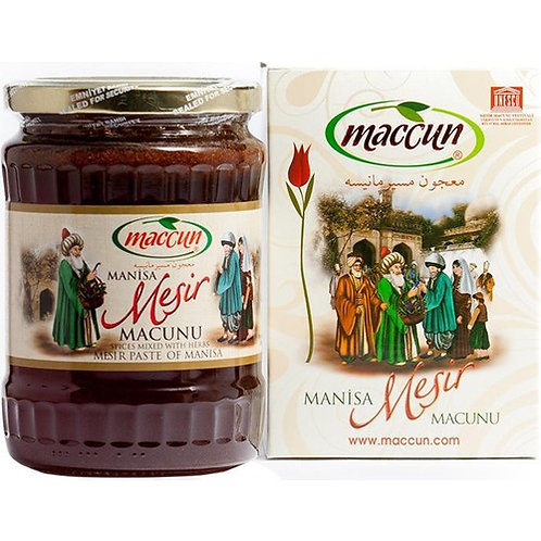 TURKISH MESIR PASTE, MESIR MACUNU, 460 gr