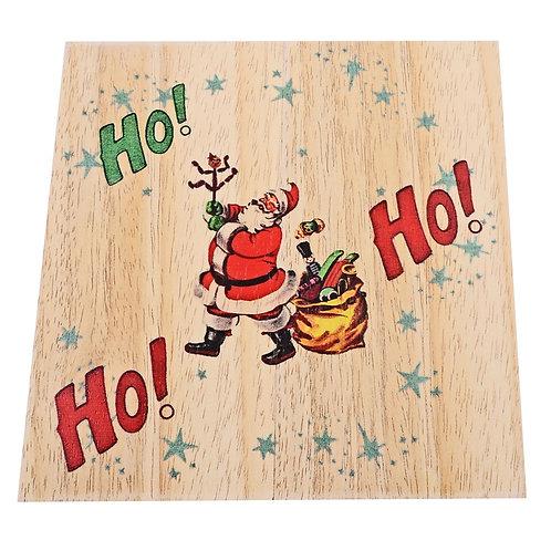 WOODEN CHRISTMAS TRIVET, 002