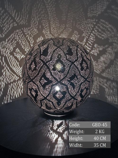 UNIQUE LARGE MOROCCAN TABLE LAMP, 005