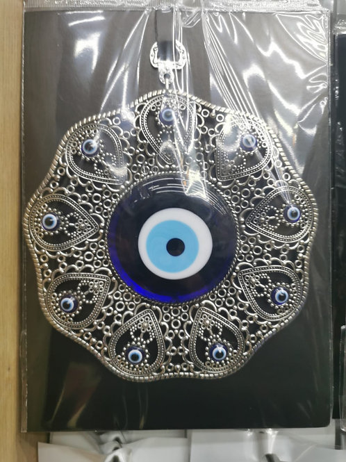 ASSORTED EVIL EYE HANGING, 20 PIECES