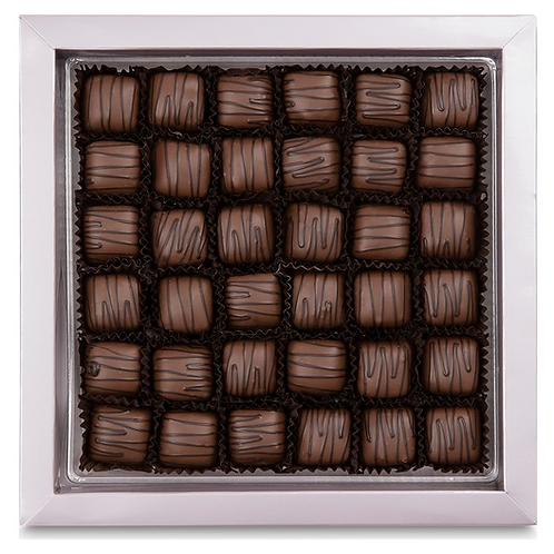TURKISH CHOCOLATE COATED DELIGHT BOX, 500 GR (17.6 oz )