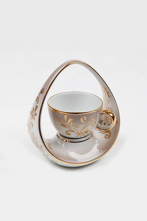 EXCLUSIVE PORCELAIN TURKISH COFFEE CUP, KP-017