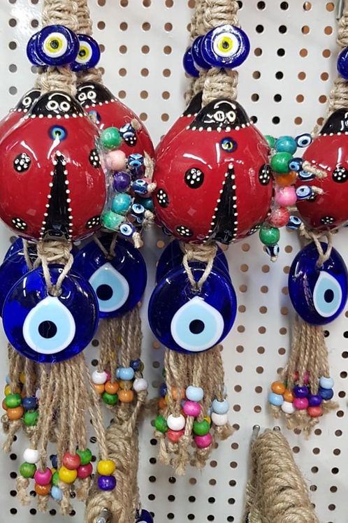 30x ASSORTED EVIL EYE WALL HANGING
