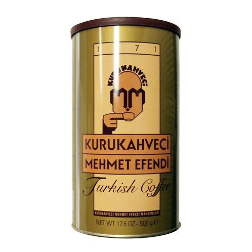 MEHMET EFENDI TURKISH COFFEE, 17.6 oz (500 gr)