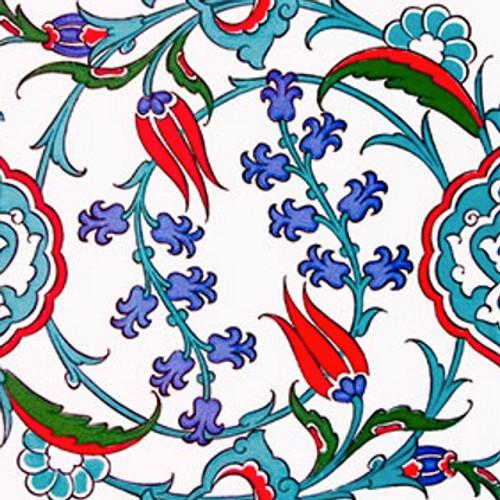 4x Turkish Ceramic Tile Set 20 X Cm 7 8