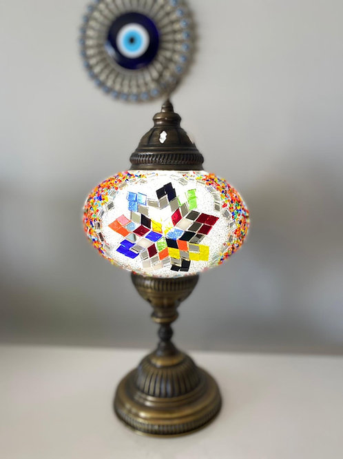 LARGE MOSAIC TABLE LAMP, 047