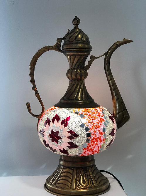 MOSAIC EWER LAMP, PEMBE 003