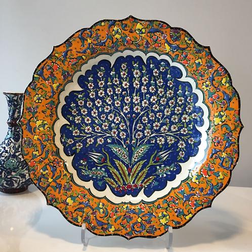 """TURKISH CERAMIC PLATE, 30 cm(11.8"""")"""