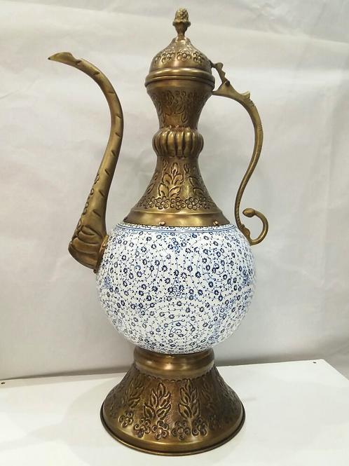 TURKISH CERAMIC IBRIK, 40 cm, GOLDEN HORN