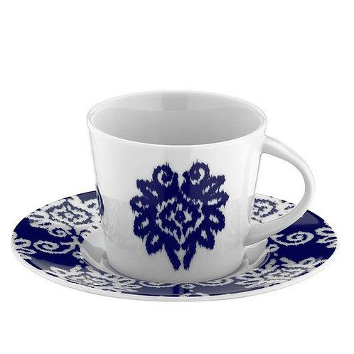 6x PORCELAIN TURKISH COFFEE SET FOR SIX, KP-011