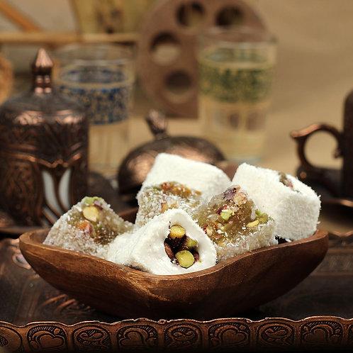 MIXED NUT TURKISH DELIGHT