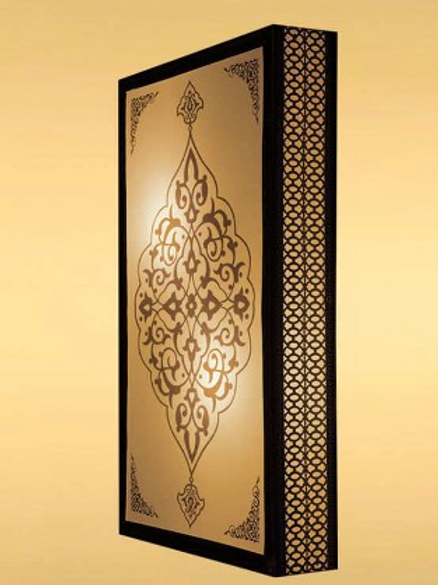 OTTOMAN FLUSH MOUNT SCONCE, WALL CEILING SCONCE