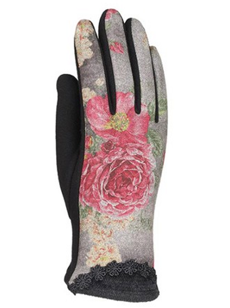 UNIQUE ROSE GLOVES, SCREEN TOUCH