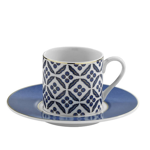 6x PORCELAIN TURKISH COFFEE SET FOR SIX, KP-004