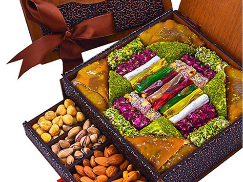 SPECIAL DELIGHT AND NUT  BOX