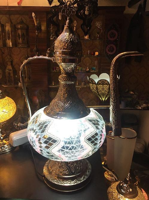 MOSAIC EWER LAMP, MOSAIC IBRIK LAMP, 00024