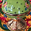 Thumbnail: ASSORTED TURKISH CERAMIC SUGAR BOWL WITH LID, 6 PIECES