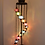 "Thumbnail: ASSORTED MOSAIC FLOOR LAMP, 11 LAMPS, NO.3, GLOBE SIZE: 14 cm (5.5"")"