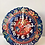 "Thumbnail: TURKISH CERAMIC WALL CLOCK, 25 CM (9.84"")"