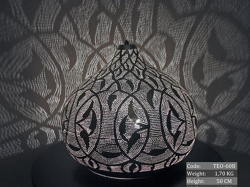 UNIQUE LARGE MOROCCAN TABLE LAMP