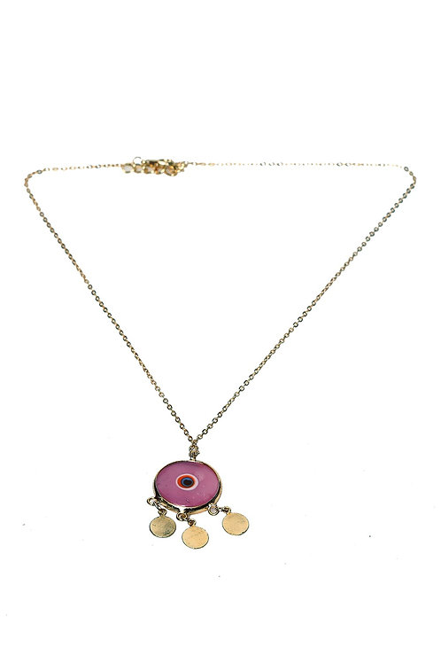 EVIL EYE NECKLACE, EVIL EYE 005