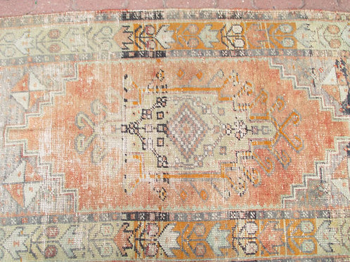 SMALL OUSHAK RUG,  120 x 77 cm (47 x 30 inches)