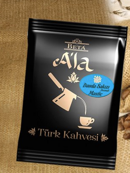 25 x TURKISH COFFEE WITH MASTIC FLAVOUR, 100 GR
