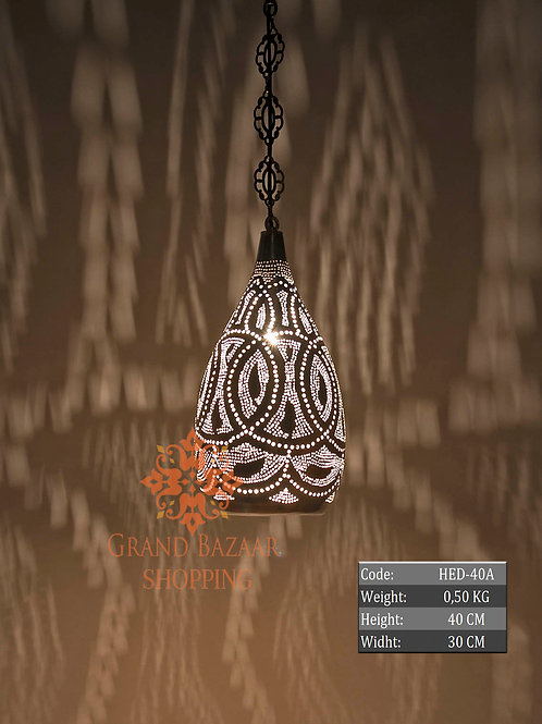 HANDMADE MOROCCAN HANGING LAMP, 003
