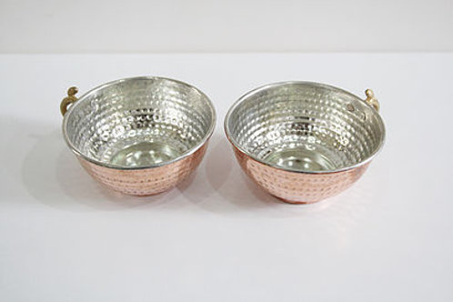 COPPER STOUP SET OF TWO