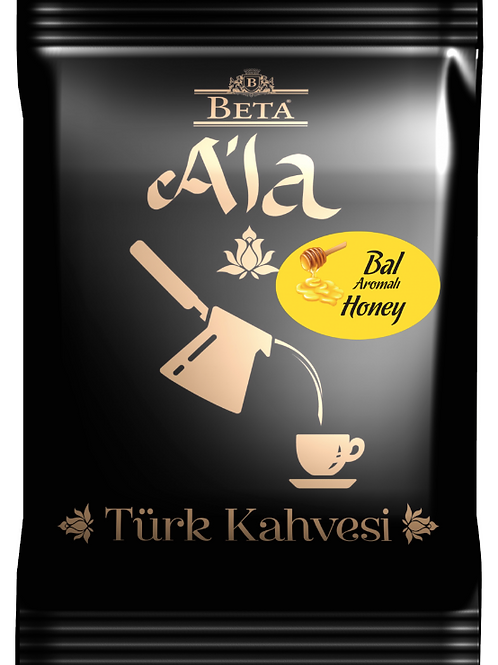 25 x TURKISH COFFEE WITH HONEY FLAVOUR, 100 GR