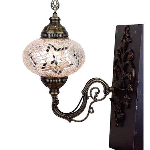 MOSAIC WALL LAMP, BEIGE 0018