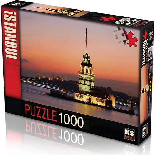 MAIDON´S TOWER PUZZLE, 1000 pieces