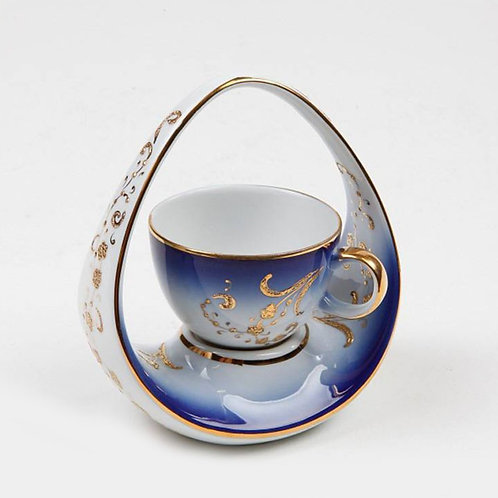 EXCLUSIVE PORCELAIN TURKISH COFFEE CUP, KP-021