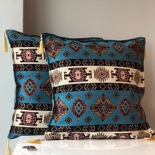 ORIENTAL TURKISH PILLOW SET OF TWO, 00395