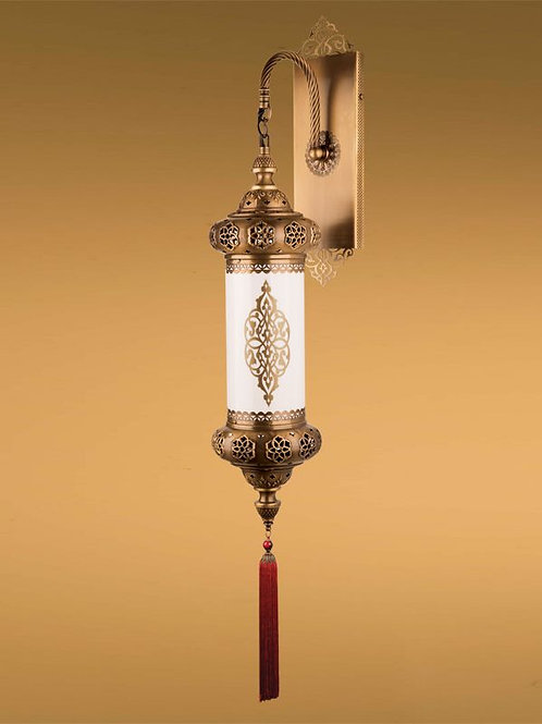 LARGE OTTOMAN STYLE WALL LAMP WITH TASSEL, A2-P602