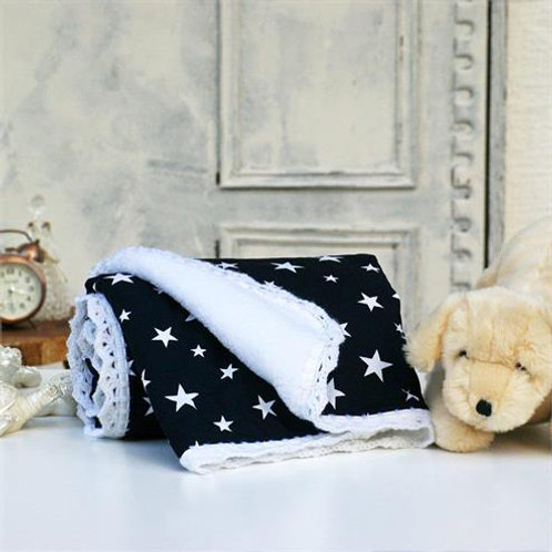 GOODNIGHT KISS COTTON BEDCLOTHES FOR KIDS, Dark Blue