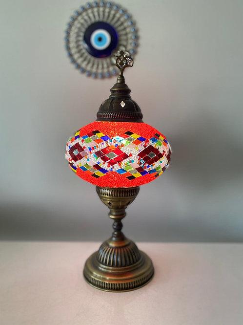 LARGE MOSAIC TABLE LAMP, 038