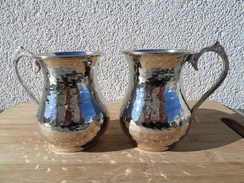 COPPER TURKISH AYRAN CUP SET OF TWO