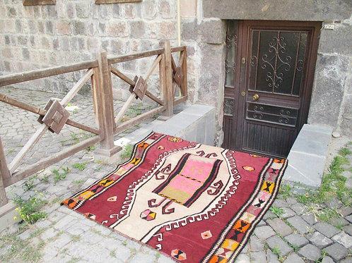 UNIQUE TURKISH KILIM RUG