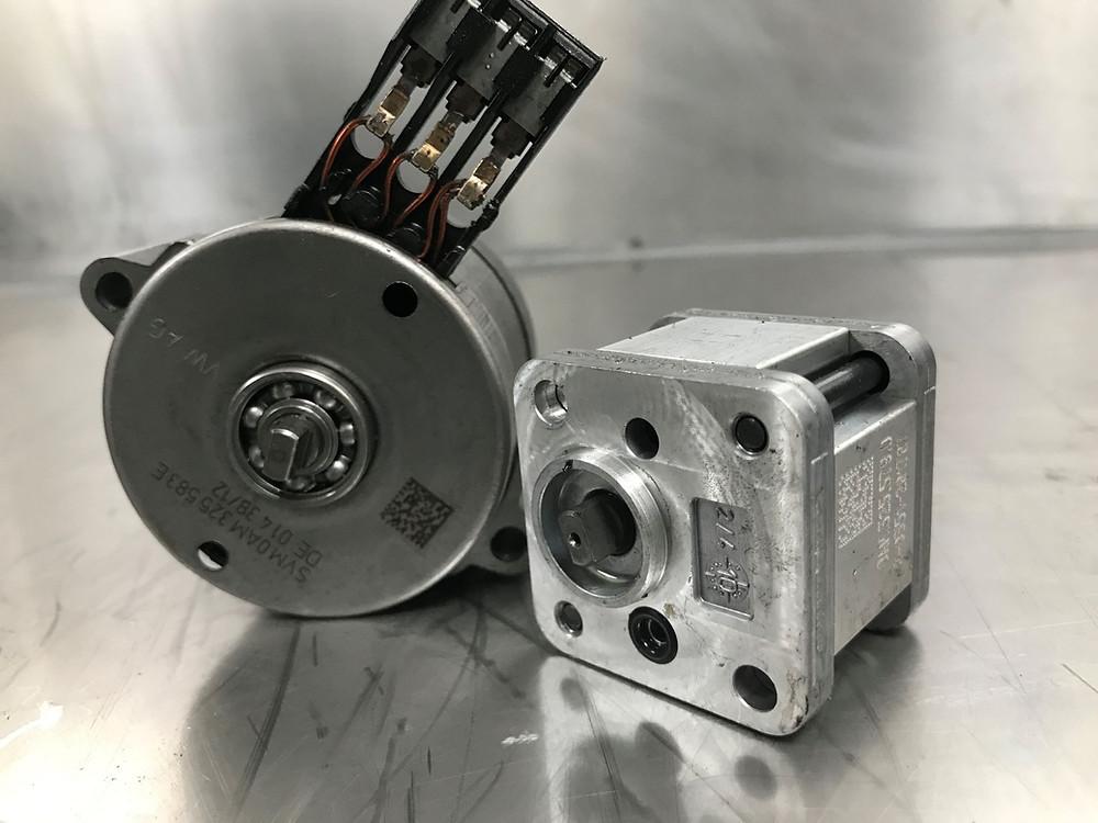 IC Motor & High Pressure Pump On DQ200 Mechatronic Repair Eco Torque