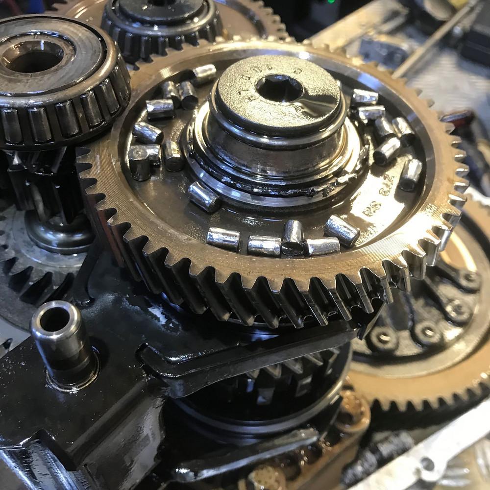 Fait DDCT C635 Gearbox Bearing Failure Semi-Automatic Dual Clutch