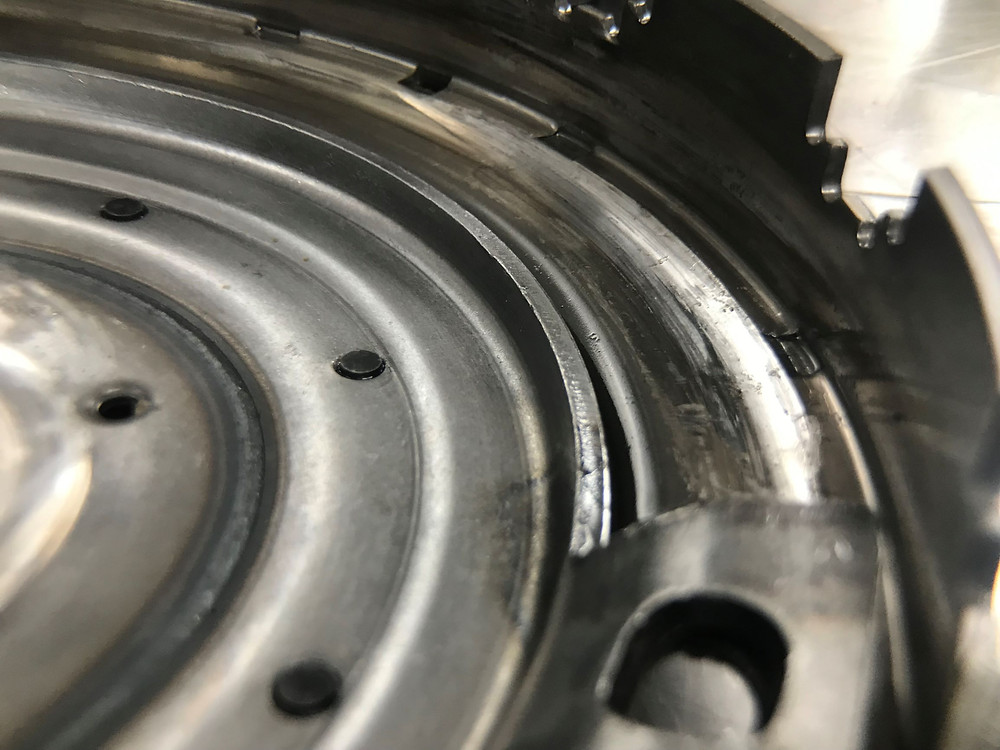 Ford Volvo Automatic Powershift Wet Clutch Drum Damage Repair